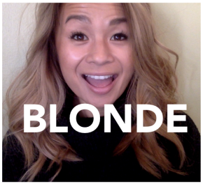 On Becoming (an Asian)Blonde